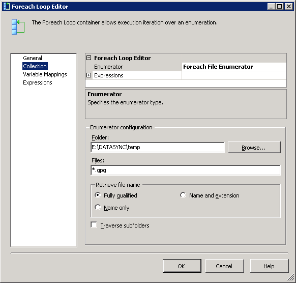 SSIS Task to decrypt PGP files automatically